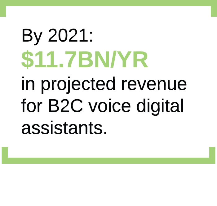 Voice Services - by 2021
