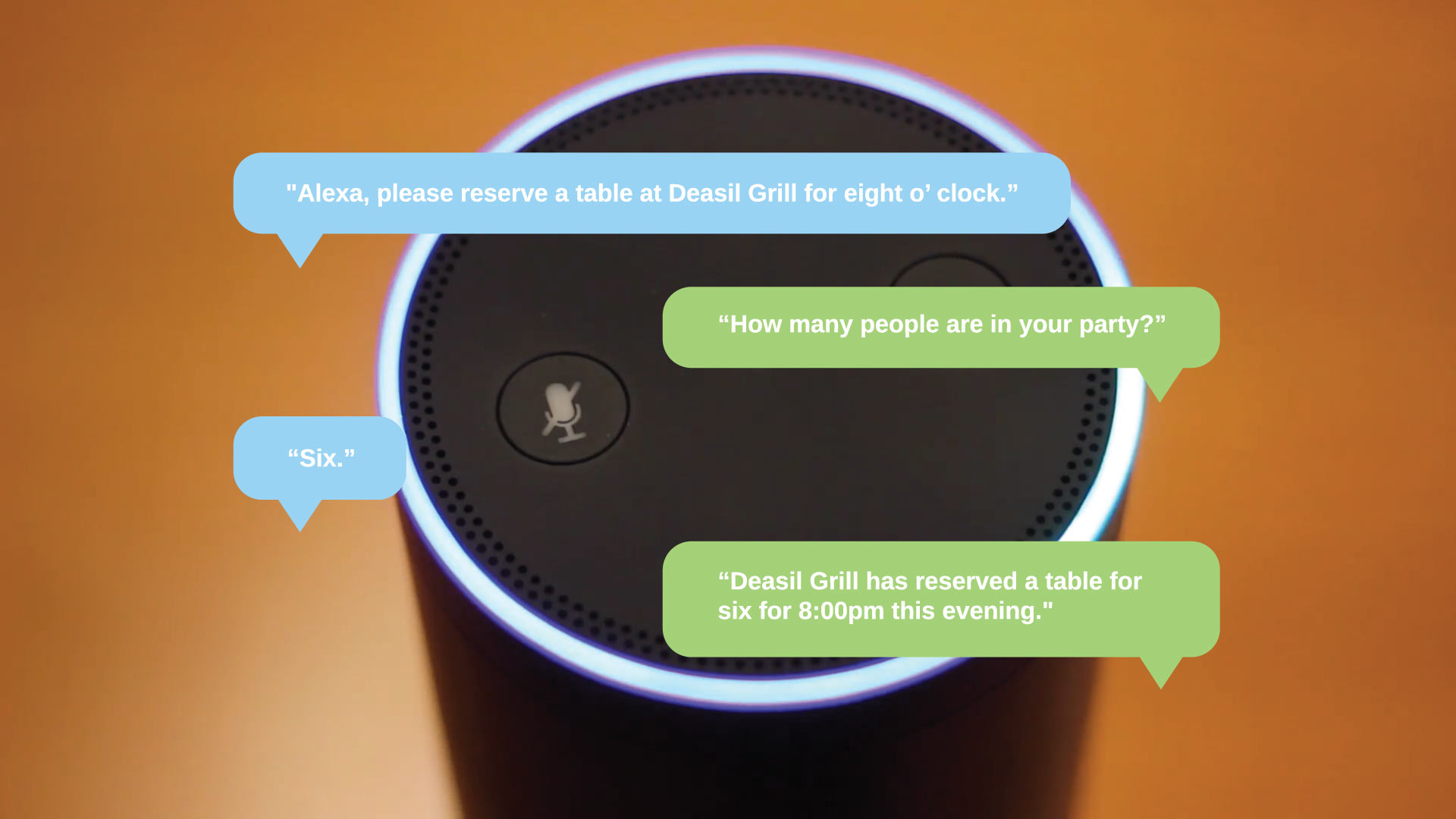 Voice Services - Conversation with Alexa