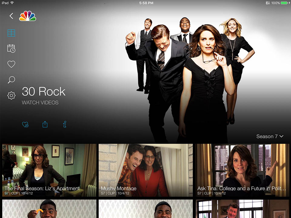 NBC - Project - 30 Rock Site