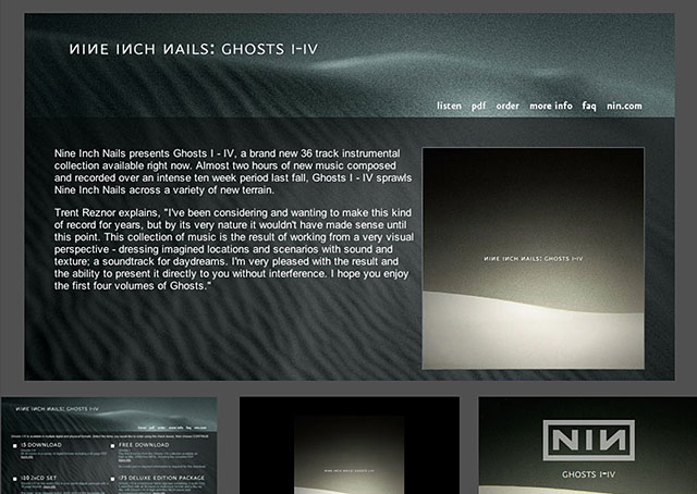 Project - NIN - Ghosts